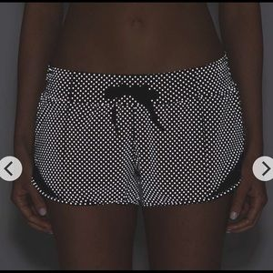 lululemon athletica Shorts - Lululemon shine bright reflective hotty hot shorts